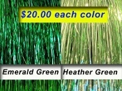 The Greens - Emerald Green / Heather Green