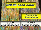 GOLD & SILVER Luminescence
